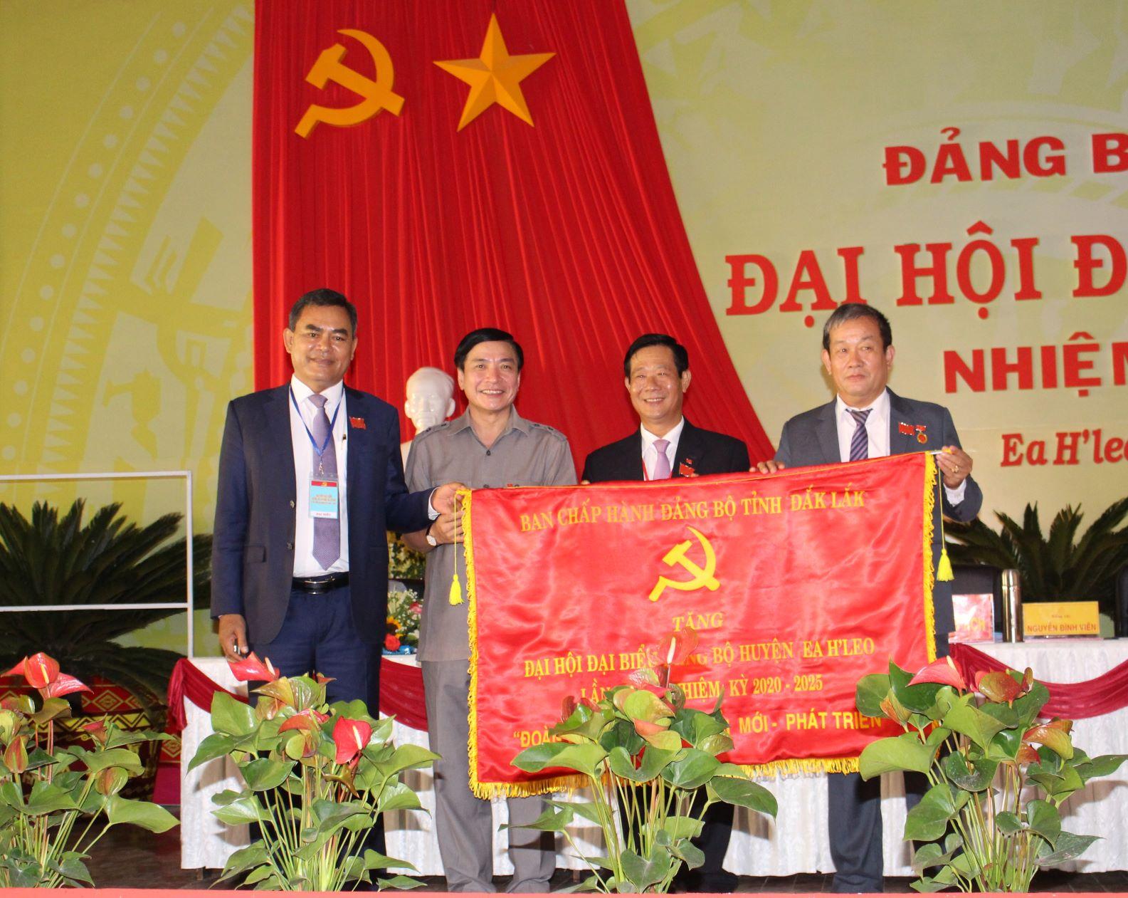 Đại hội đại biểu Đảng bộ huyện Ea H'leo lần thứ XI, nhiệm kỳ 2020 - 2025