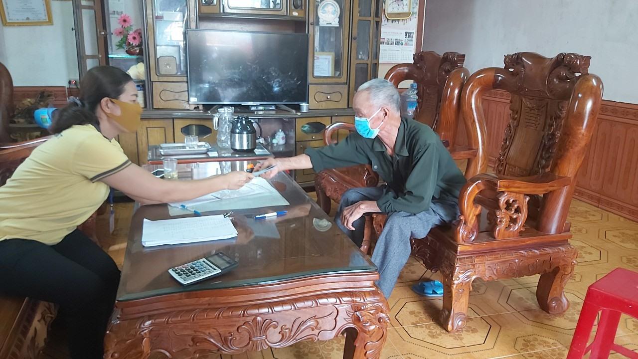 5 tỉnh miền Trung, Tây Nguyên chi trả lương hưu, trợ cấp BHXH tháng 8- 9 vào cùng một kỳ