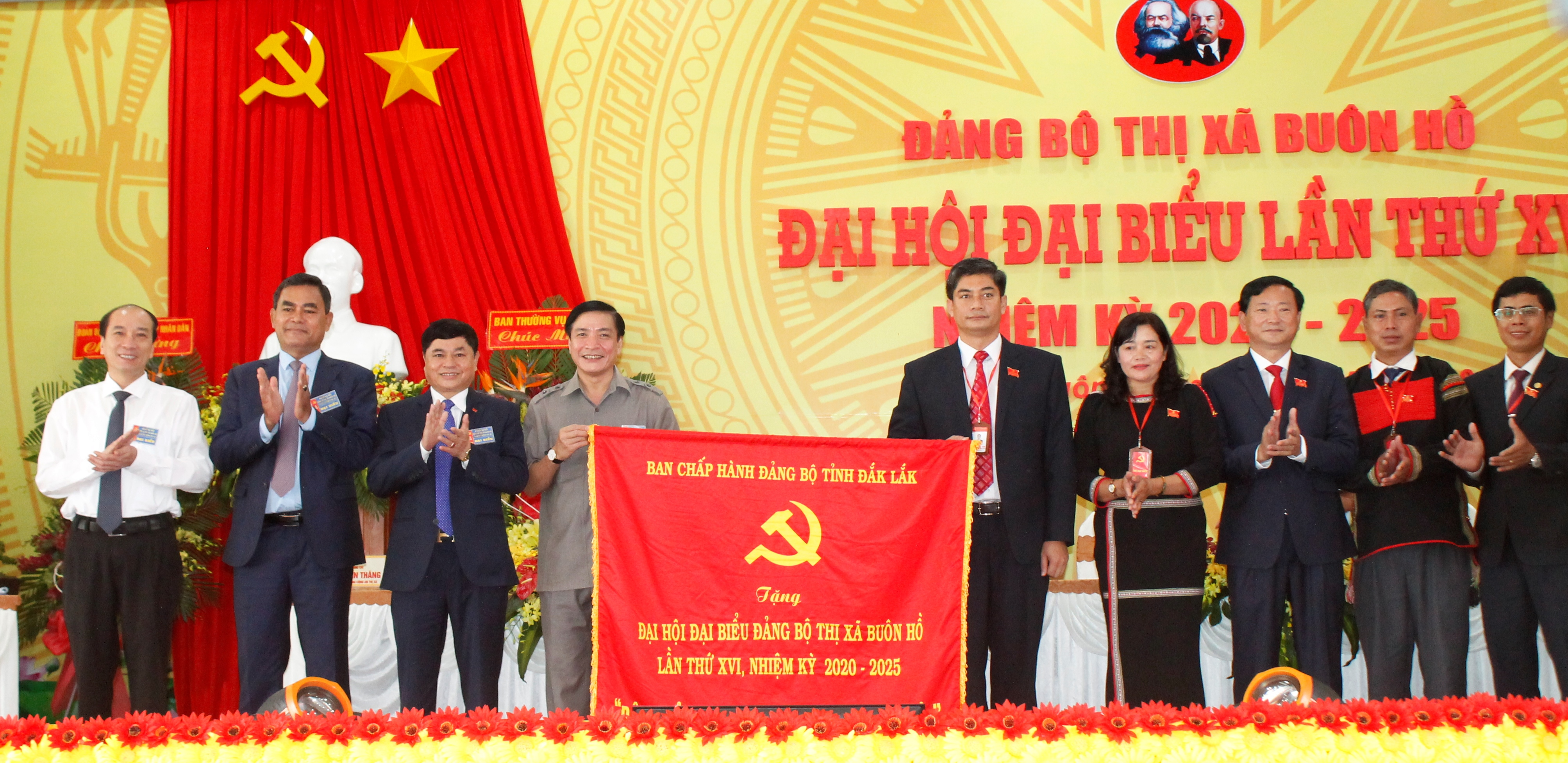 Đại hội đại biểu Đảng bộ thị xã Buôn Hồ lần thứ XVI, nhiệm kỳ 2020-2025