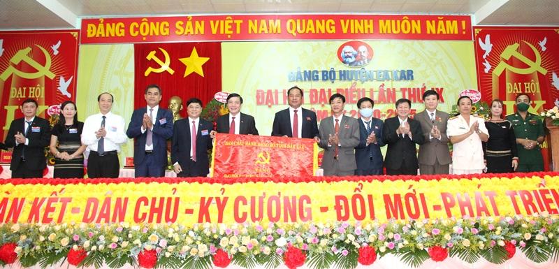 Đảng bộ huyện Ea Kar tổ chức Đại hội đại biểu lần thứ IX, nhiệm kỳ 2020 – 2025.