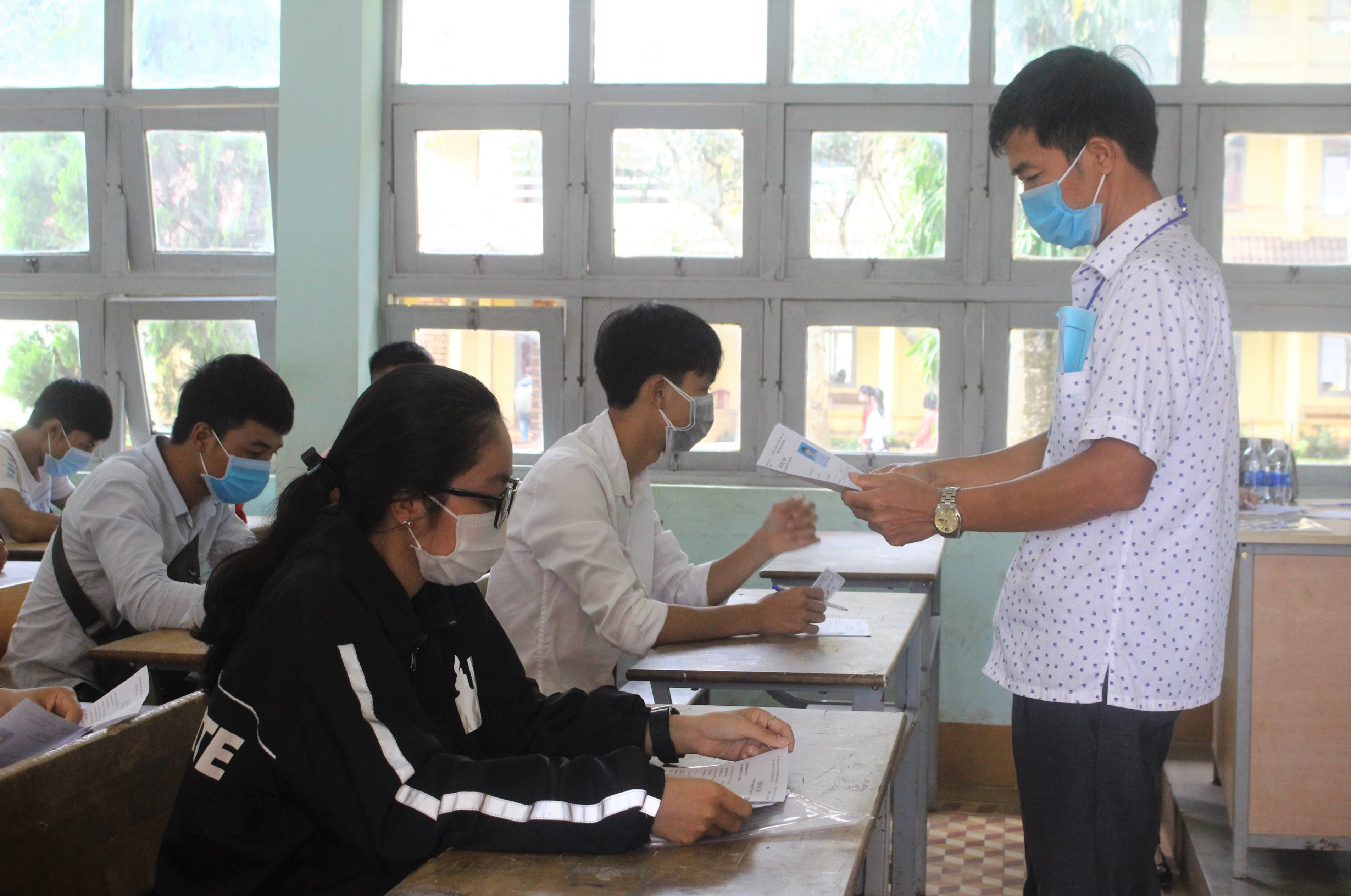 98,97% thí sinh đến làm thủ tục dự thi đợt 1 Kỳ thi tốt nghiệp THPT năm 2020