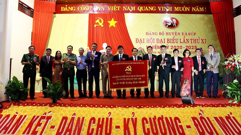 Đại hội Đại biểu Đảng bộ huyện Ea Súp lần thứ XI, nhiệm kỳ 2020 – 2025