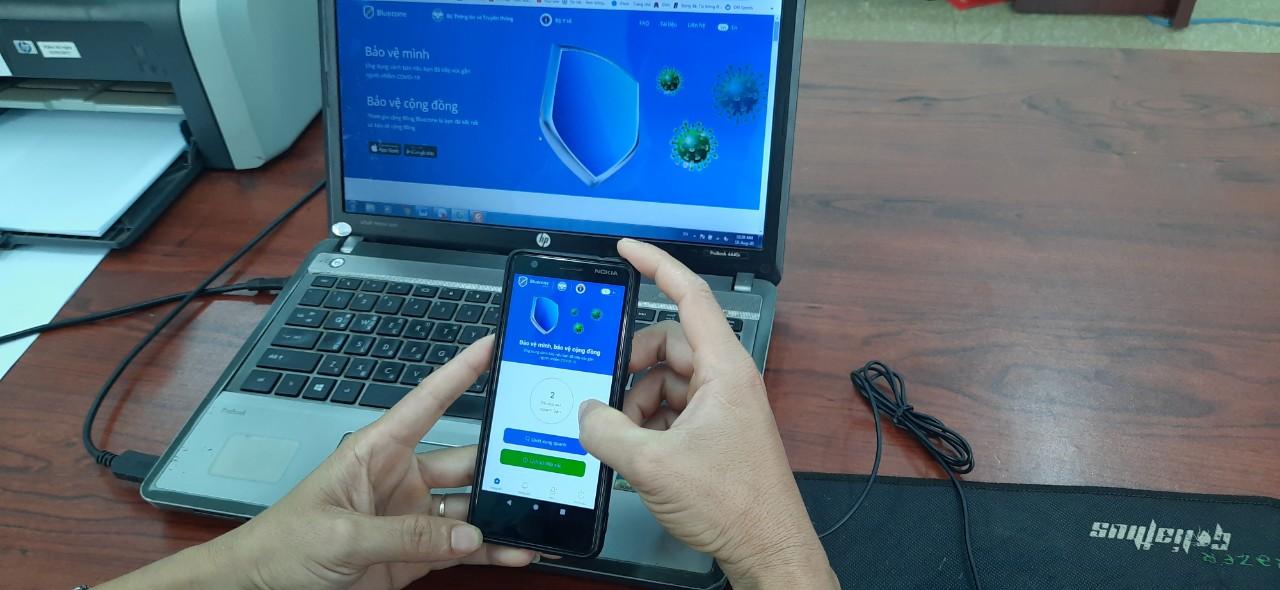 Đắk Lắk: gần 200.000 lượt thuê bao cài đặt phần mềm Bluezone để phòng, chống dịch COVID-19