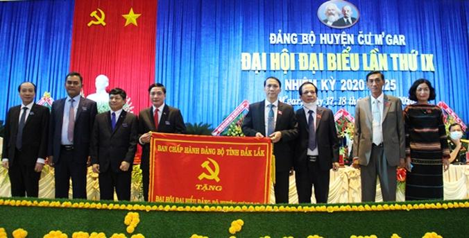 Đại hội Đại biểu Đảng bộ huyện Cư M'gar lần thứ IX, nhiệm kỳ 2020-2025