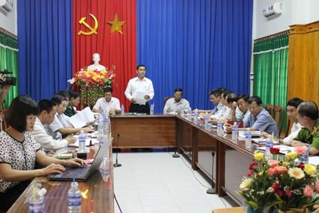 Kiểm tra công tác chuẩn bị bầu cử tại huyện Ea Súp