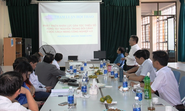 Hội thảo khoa học phát triển nhân lực dân tộc thiểu số trong bối cảnh Cuộc cách mạng Công nghiệp 4.0