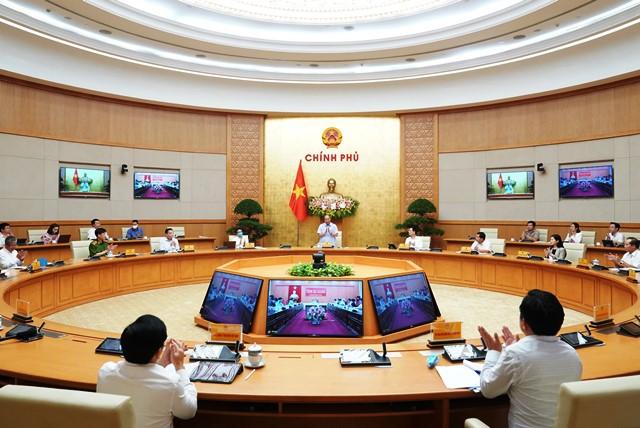 Thủ tướng Chính phủ chủ trì Hội nghị trực tuyến về Chính phủ điện tử