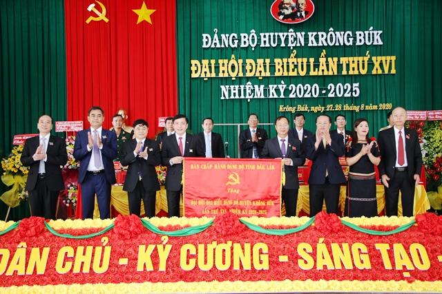 Đại hội Đại biểu Đảng bộ huyện Krông Búk lần thứ XVI, nhiệm kỳ 2020-2025