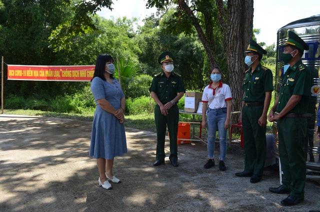Ban Chỉ đạo phòng, chống Covid-19 tỉnh Đắk Lắk thăm và động viên lực lượng Biên phòng thực hiện nhiệm vụ trên biên giới