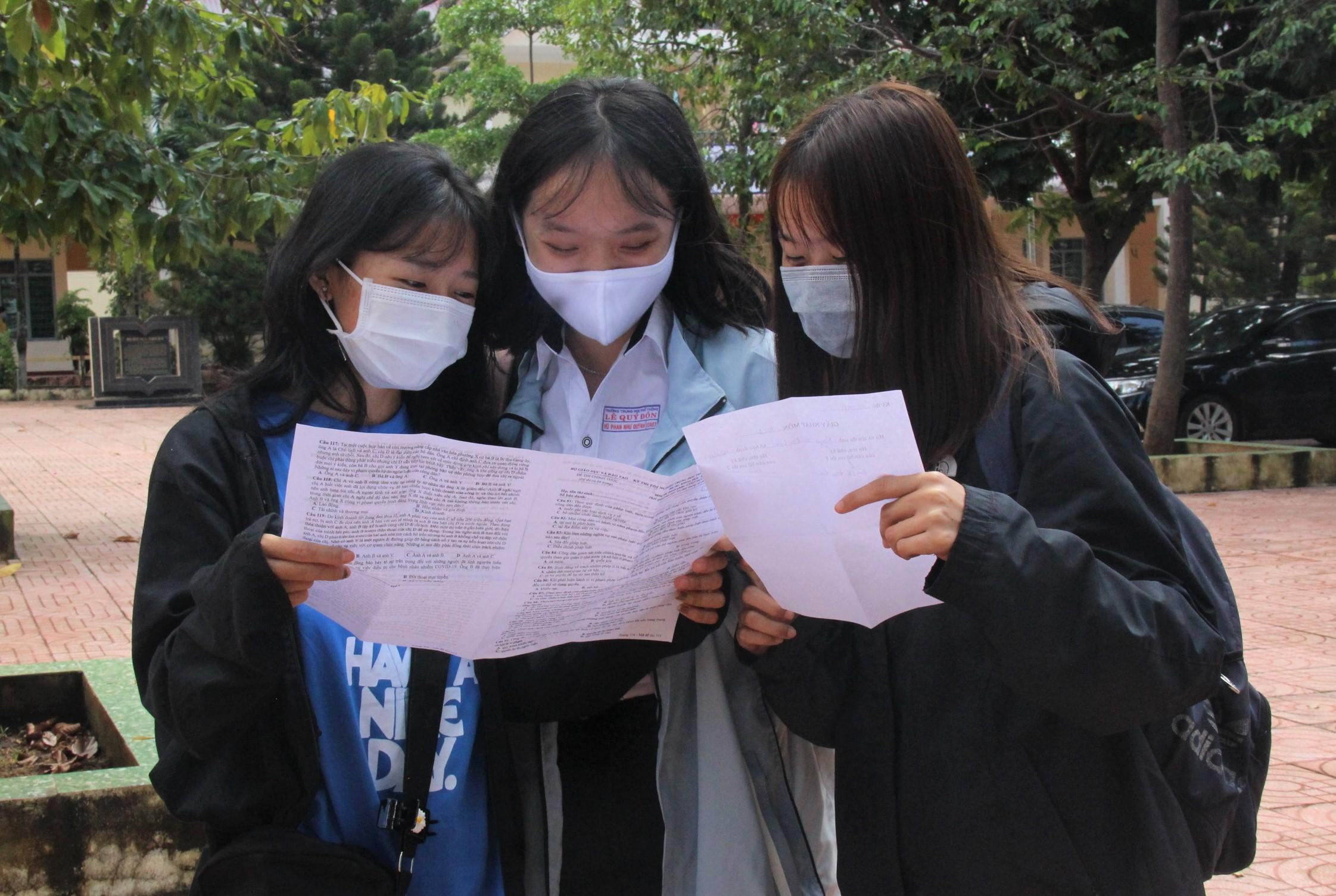 Đợt 2 Kỳ thi tốt nghiệp THPT năm 2020 diễn ra an toàn, nghiêm túc, đúng quy chế