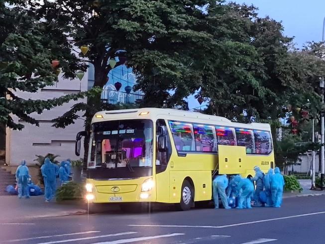 Dự kiến có 25 xe khách chở công dân đang cách ly ở Đà Nẵng về Đắk Lắk