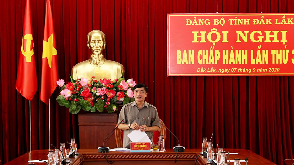 Hội nghị Ban Chấp hành Đảng bộ tỉnh lần thứ 39