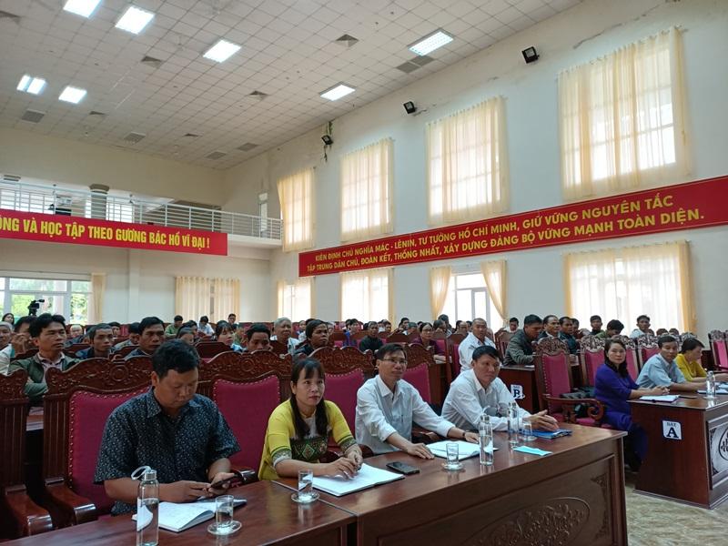 Khai giảng lớp bồi dưỡng lý luận chính trị và nghiệp vụ dành cho cán bộ Mặt trận Tổ quốc ở cơ sở năm 2020