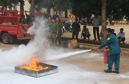 Tăng cường công tác tuyên truyền phòng cháy, chữa cháy trước thềm bầu cử