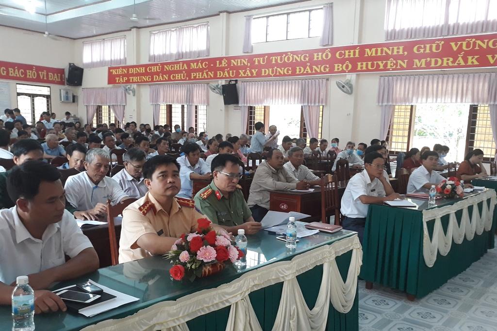 Tập huấn nghiệp vụ công tác Mặt trận cơ sở và tuyên truyền phổ biến pháp luật năm 2020