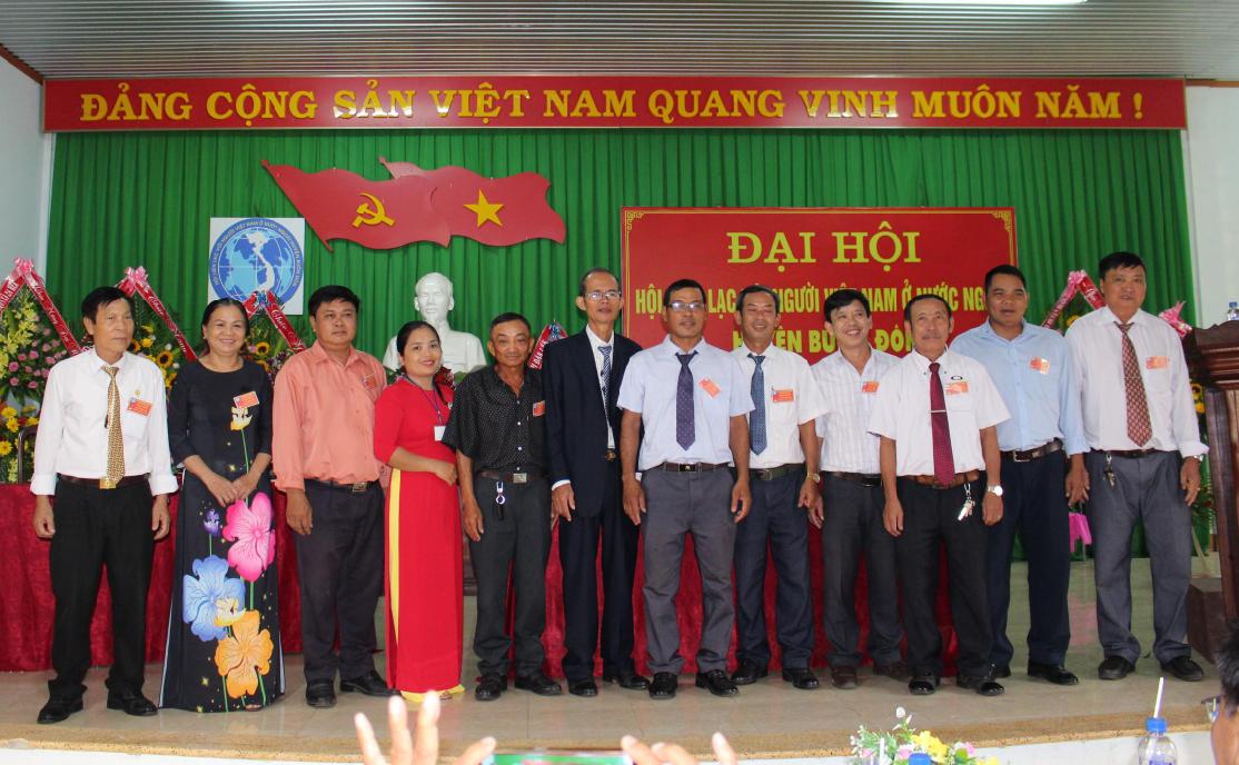 Đại hội Hội Liên lạc với người Việt Nam ở nước ngoài huyện Buôn Đôn lần thứ III
