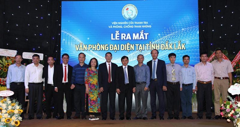 Viện nghiên cứu thanh tra và phòng, chống tham nhũng thành lập Văn phòng đại diện tại Đắk Lắk