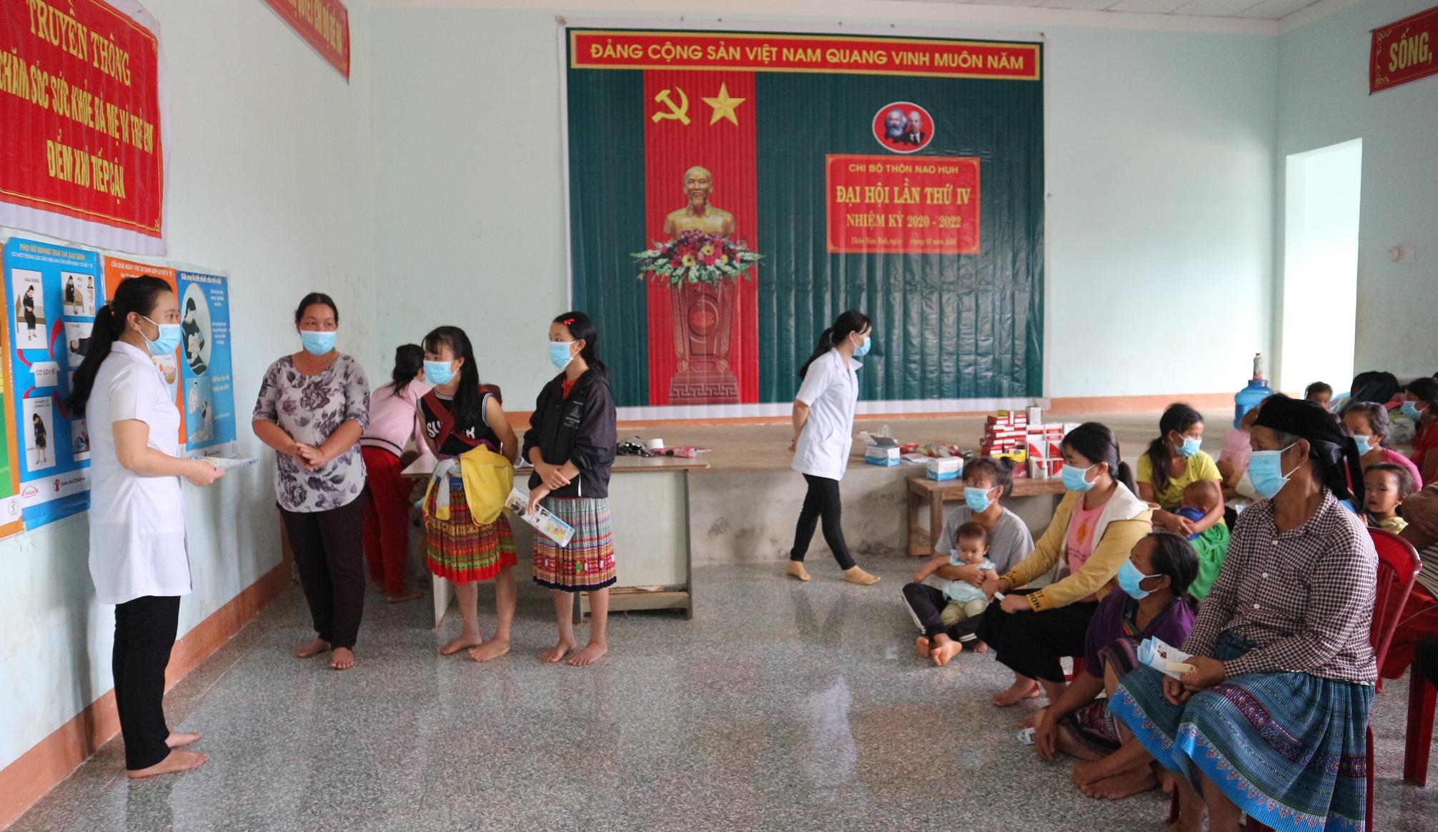 Truyền thông chăm sóc sức khỏe bà mẹ và trẻ sơ sinh tại hai huyện Lắk và Krông Bông
