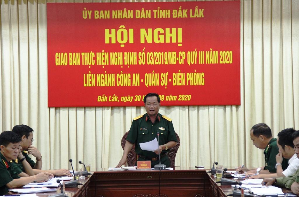 Phối hợp chặt chẽ bảo vệ an ninh quốc gia, bảo đảm trật tự, an toàn xã hội trên địa bàn tỉnh