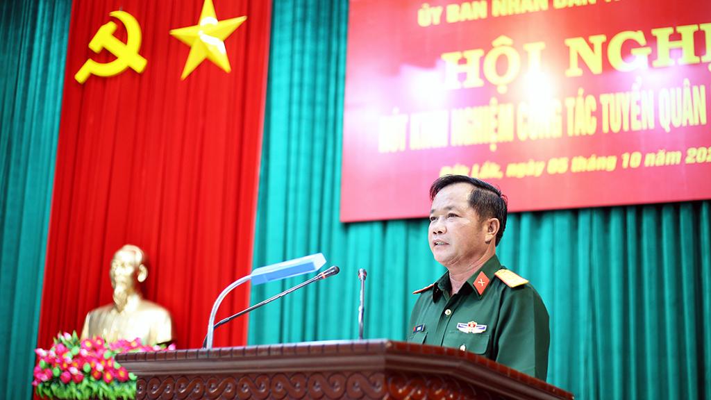 Hội nghị rút kinh nghiệm công tác tuyển quân năm 2020