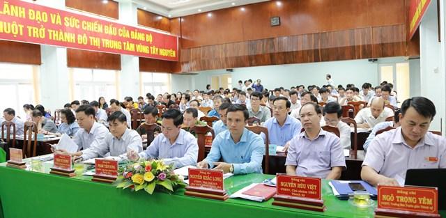Hội nghị Ban Chấp hành Đảng bộ thành phố Buôn Ma Thuột lần thứ II (mở rộng)