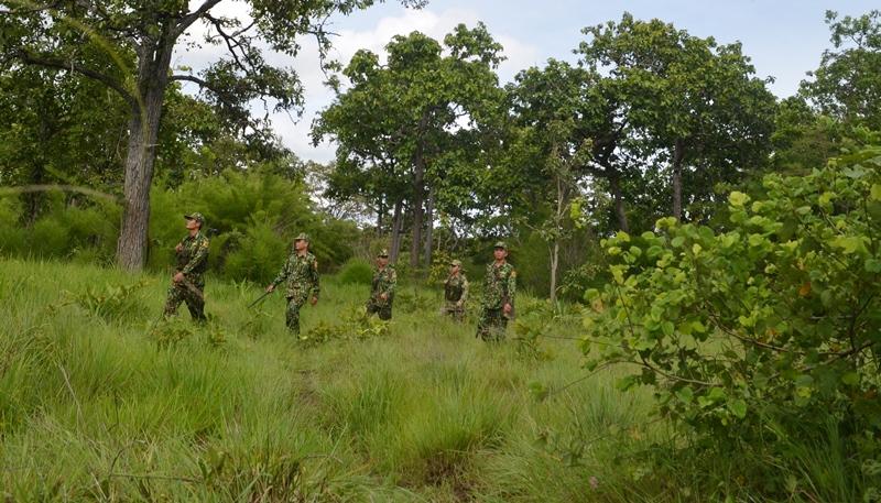 Bộ đội Biên phòng Đắk Lắk đảm bảo an ninh, trật tự trước, trong và sau Đại hội đại biểu Đảng bộ tỉnh Đắk Lắk
