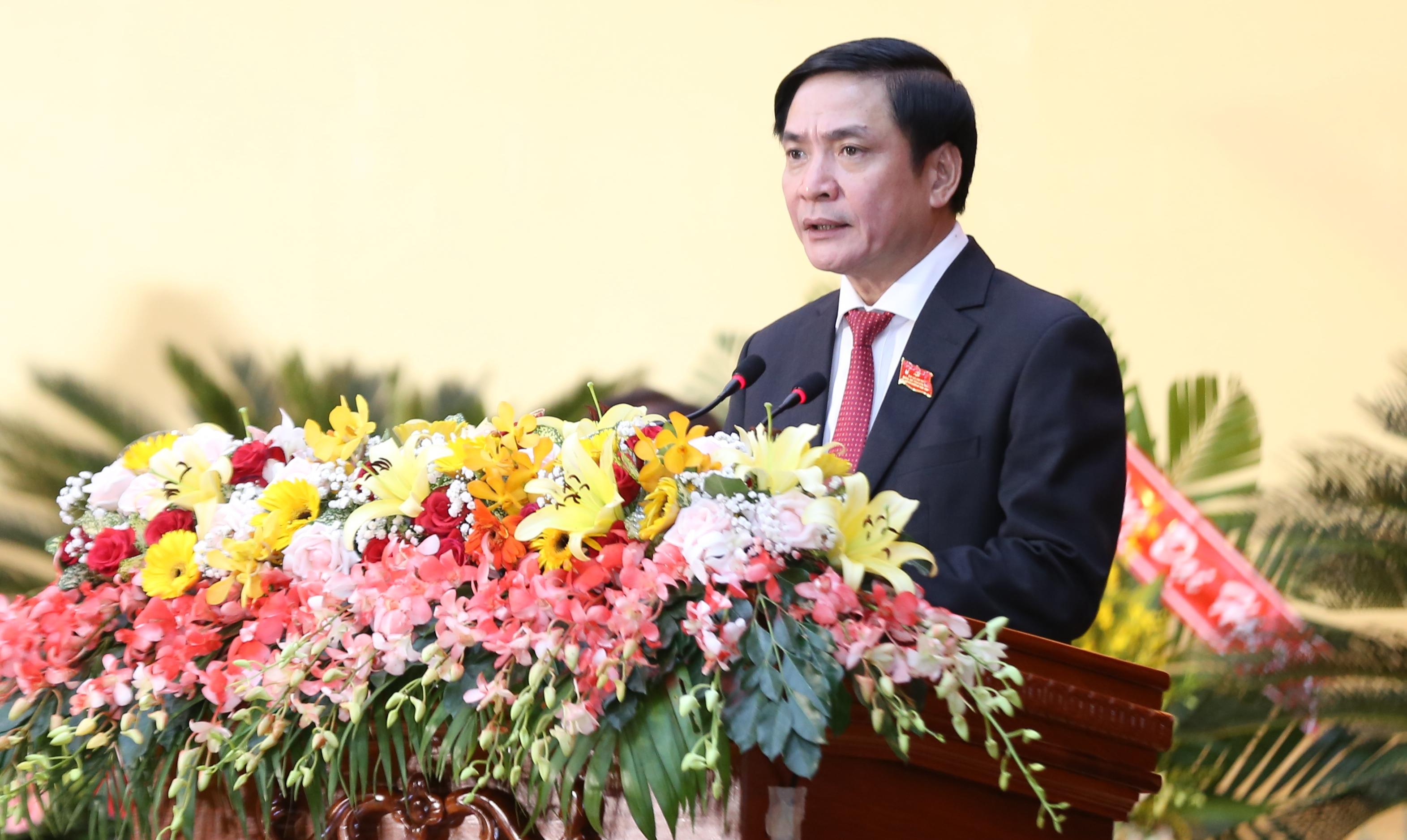 Thông qua danh sách và quy chế bầu cử Ban Chấp hành Đảng bộ tỉnh khóa XVII, nhiệm kỳ 2020 – 2025