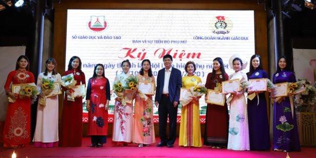 Công đoàn Ngành Giáo dục Đắk Lắk kỷ niệm 90 năm Ngày thành lập Hội LHPN Việt Nam