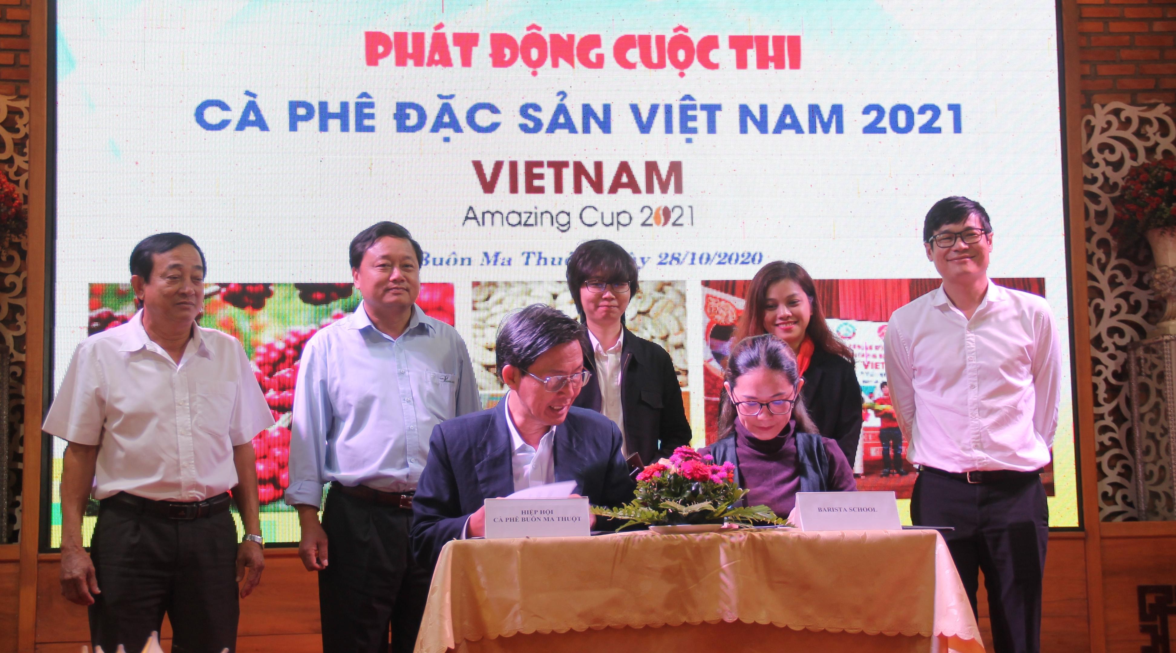 Phát động cuộc thi Cà phê đặc sản Việt Nam năm 2021