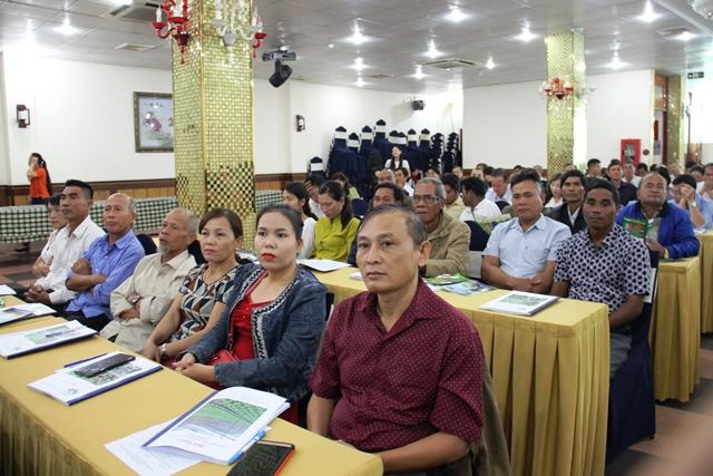 Hội thảo giới thiệu tiến bộ kỹ thuật lĩnh vực trồng trọt
