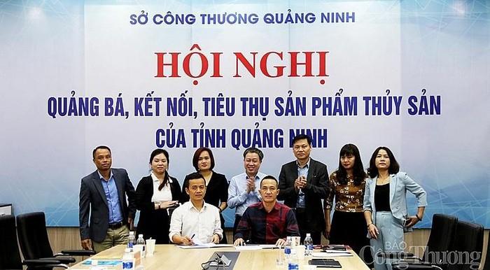Phối hợp hỗ trợ tiêu thụ sản phẩm thủy sản tỉnh Quảng Ninh