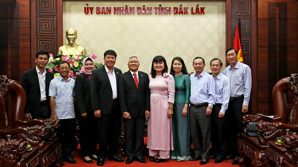 UBND tỉnh tiếp Đoàn công tác của Đại sứ quán Indonesia