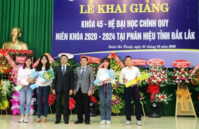 Trường Đại học Luật Hà Nội – Phân hiệu tại Đắk Lắk khai giảng Khóa 45 hệ đại học chính quy, niên khóa 2020 - 2024