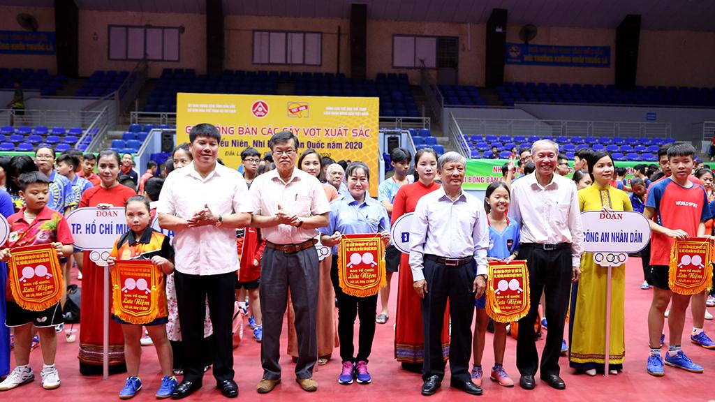 Khai mạc Giải Bóng bàn các cây vợt xuất sắc trẻ, thiếu niên, nhi đồng toàn quốc năm 2020