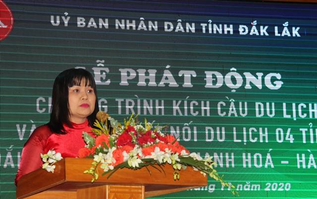 Phát động Chương trình kích cầu du lịch và Tọa đàm kết nối Đắk Lắk – Gia Lai – Thanh Hóa – Hà Tĩnh