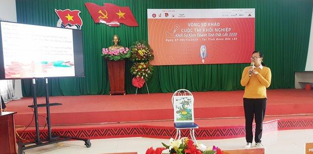 Cuộc thi Khởi nghiệp, khởi sự kinh doanh tỉnh Đắk Lắk năm 2020: 25 đề án, ý tưởng được chọn vào Vòng chung kết