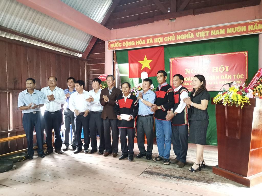 Ngày hội Đại đoàn kết toàn dân tộc Khu dân cư buôn Tai, xã Krông Jing, huyện M'Đrắk