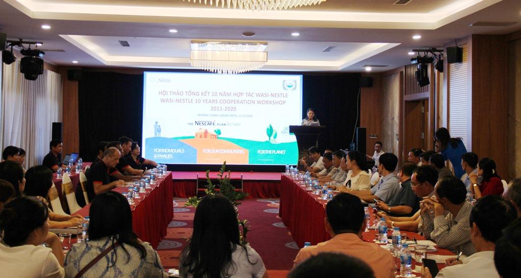 Hội thảo tổng kết 10 năm hợp tác Chương trình phát triển cà phê bền vững tại Việt Nam