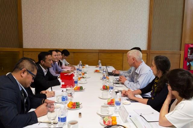 UBND tỉnh làm việc với Đoàn công tác của Đại sứ quán Thụy Sĩ
