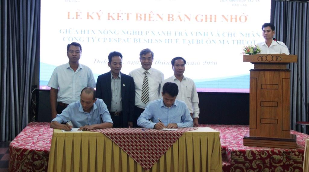 Kết nối giao thương giữa các doanh nghiệp tỉnh Đắk Lắk và tỉnh Trà Vinh