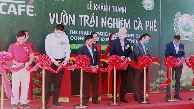 """Khánh thành """"Vườn trải nghiệm Cà phê NESCAFÉ WASI"""" tại Tây Nguyên"""
