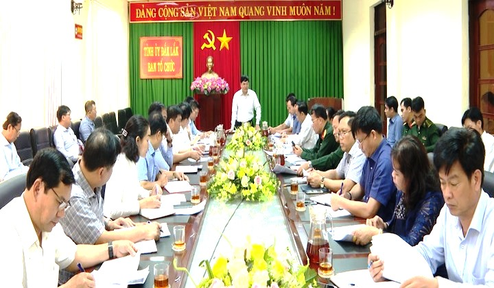 Hội nghị sơ kết công tác phát triển đảng viên của Đảng bộ tỉnh năm 2020