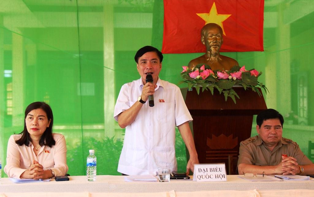 Đoàn đại biểu Quốc hội tỉnh tiếp xúc cử tri tại huyện Ea Súp
