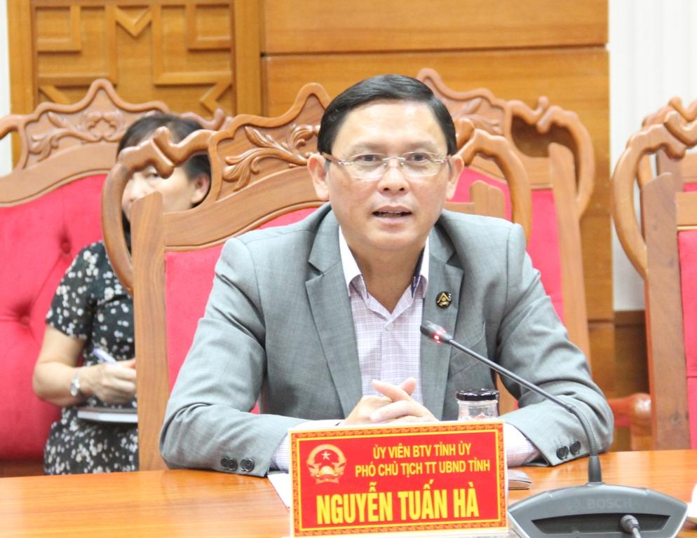 UBND tỉnh làm việc với Đoàn công tác của Công ty TNHH Vitad tại Việt Nam