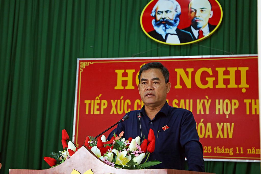 Tiếp xúc cử tri huyện Krông Ana: Cử tri kiến nghị chính sách cho đồng bào dân tộc thiểu số