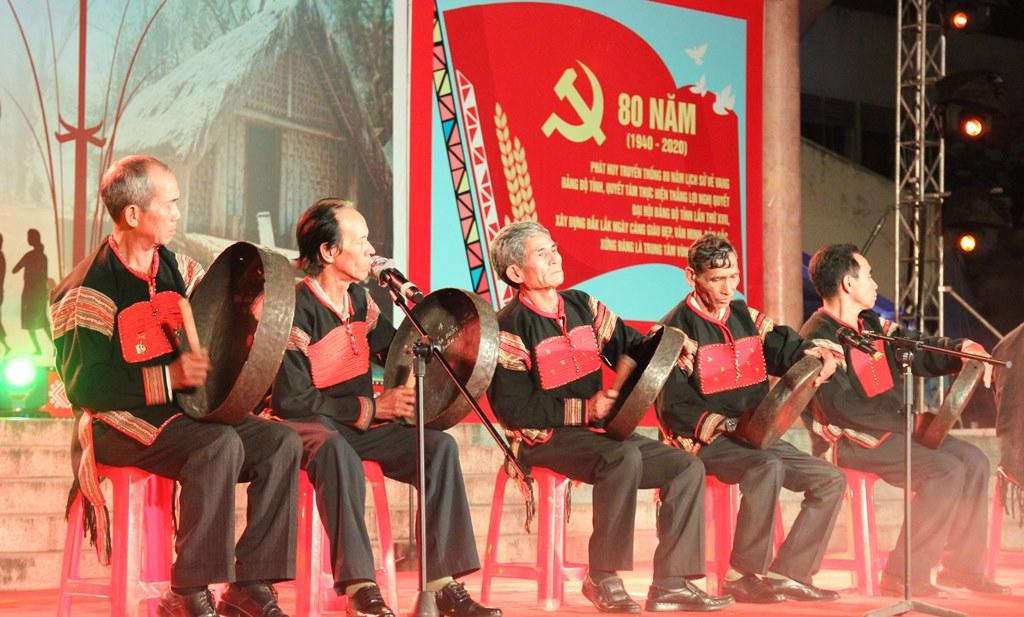 Liên hoan văn hóa cồng chiêng tỉnh Đắk Lắk năm 2020