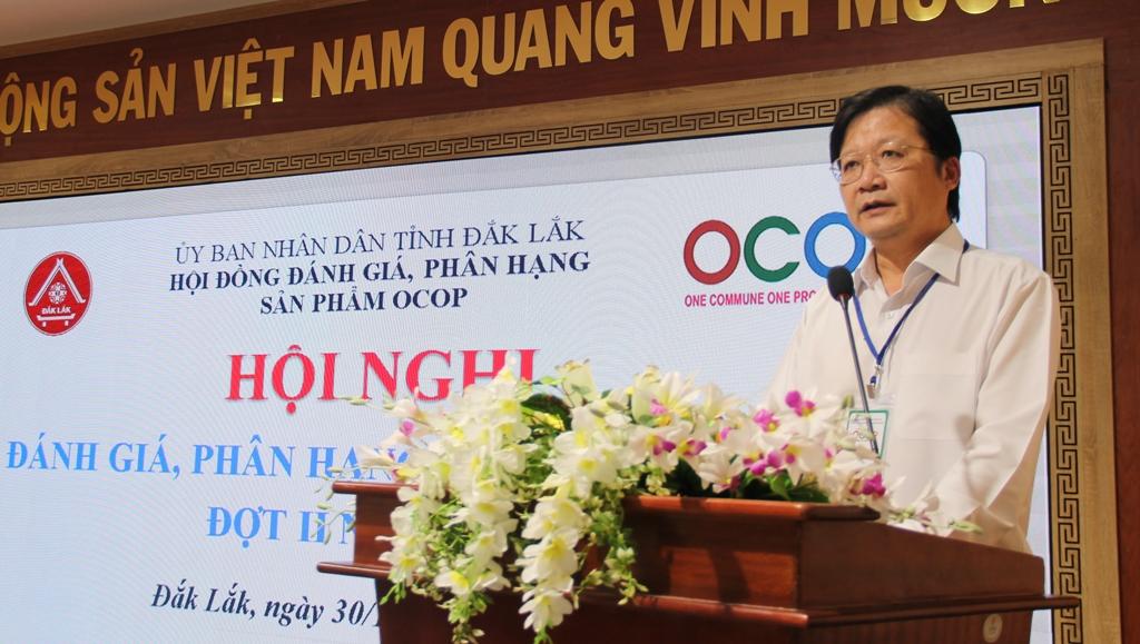 Hội nghị đánh giá, phân hạng sản phẩm OCOP đợt 2, năm 2020.