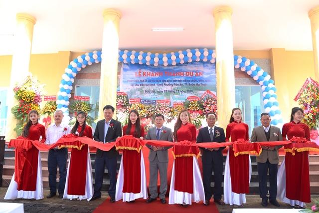 Khánh thành Dự án phát triển nhà ở độc lập cho cán bộ, công chức, viên chức
