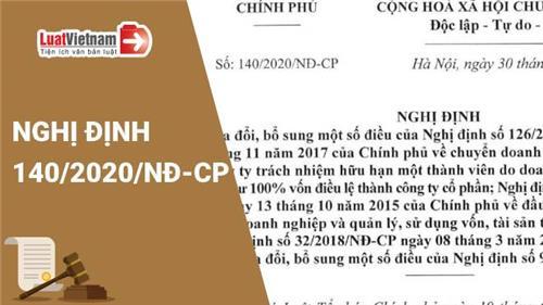 Triển khai Nghị định số 140/2020/NĐ-CP ngày 30/11/2020 của Chính phủ