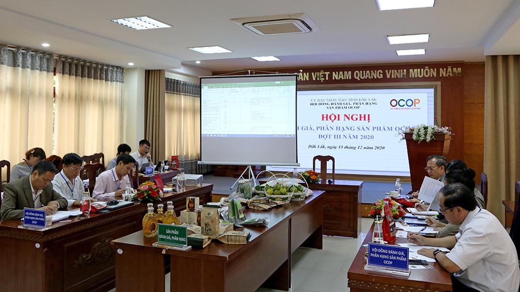 11 sản phẩm được đánh giá, phân hạng sản phẩm OCOP cấp tỉnh đợt III năm 2020